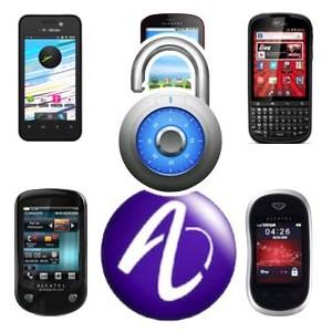 Alcatel Upplåsning