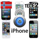 Tele2 Norge - iPhone Upplåsning