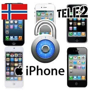Tele2 Norge - iPhone Upplåsning