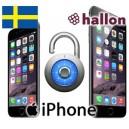 Hallon - iPhone Upplåsning