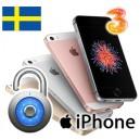 "Tre ""3"" - iPhone Upplåsning"