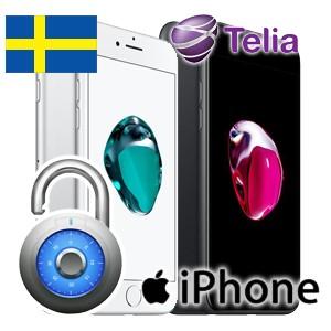 Telia - iPhone Upplåsning